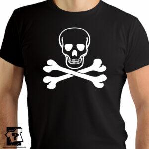 Czaszka - t-shirt z motywem czaszki - koszulka z nadrukiem