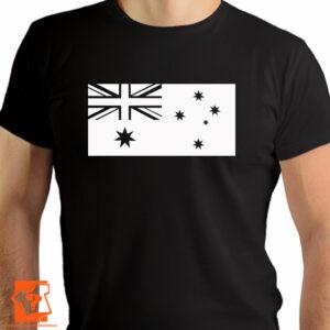 Flaga Australii na koszulce - koszulka z nadrukiem