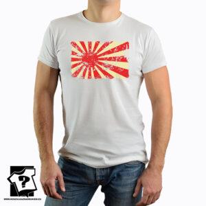 Flaga Kamikaze - koszulka z nadrukiem