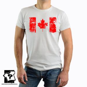 Flaga Kanady - koszulki z nadrukiem