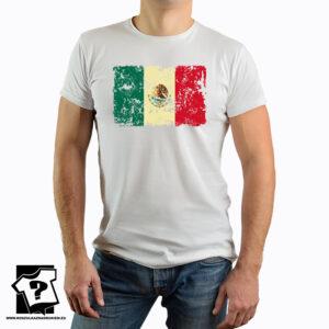 Flaga Meksyku - koszulka z nadrukiem