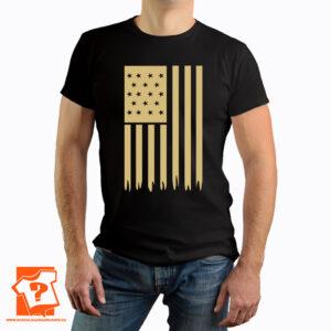 Flaga United States of America (USA) - koszulka z nadrukiem
