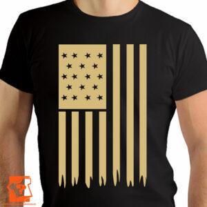 Flaga United States of America (USA) - koszulki z nadrukiem