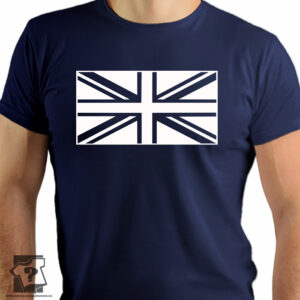 Flaga Wielkiej Brytanii - koszulki z nadrukiem