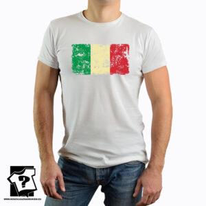 Flaga Włoch - koszulka z nadrukiem