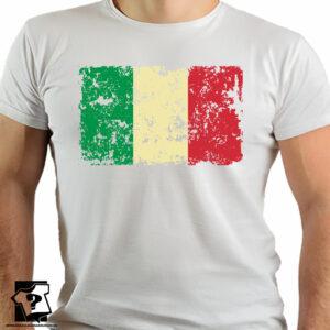 Flaga Włoch - koszulki z nadrukiem