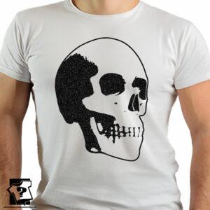 Koszulka czaszka - koszulka z nadrukiem