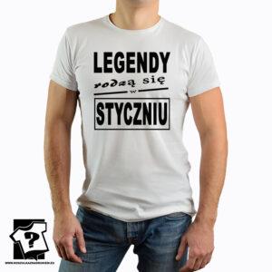 Koszulki z nadrukiem - legendy rodzą się w styczniu