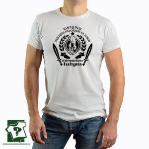 Męska koszulka wszyscy mężczyźni urodziny luty - koszulka z nadrukiem