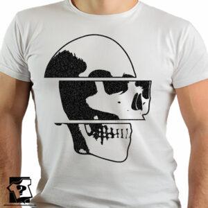 T-shirt czaszka - koszulki z nadrukiem