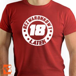 Bezwarunkowy 18 latek - śmieszny prezent urodzinowy - koszulka z nadrukiem
