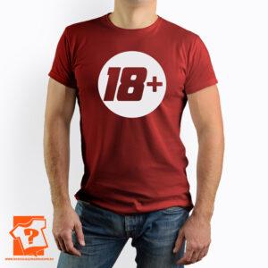 18 + koszulka na 18 urodziny - koszulka z nadrukiem