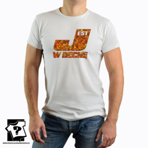 Jest w dechę kolory - t-shirt z nadrukiem wykonany ze 100% bawełny