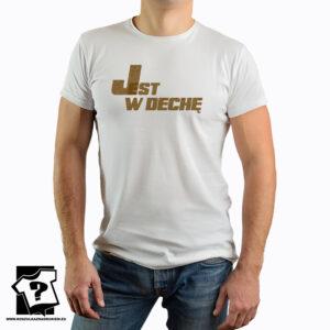 T-shirt z nadrukiem - jest w dechę