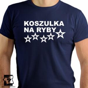 Koszulka na ryby - koszulki z nadrukiem dla miłośników wędkowania