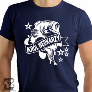 Król wędkarzy - koszulki z nadrukiem