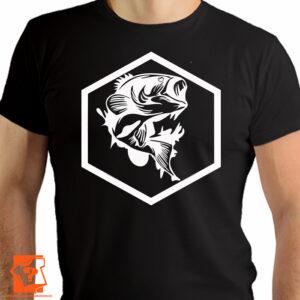 koszulka z nadrukiem ryby - koszulki z nadrukiem