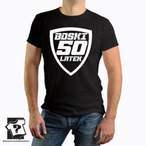 Boski 50 latek - koszulka z nadrukiem - śmieszny prezent na 50 urodziny