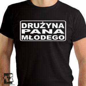 Drużyna pana młodego - koszulka z nadrukiem - koszulki na wieczór kawalerski