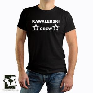 Kawalerski crew - koszulka z nadrukiem - koszulka na wieczór kawalerski