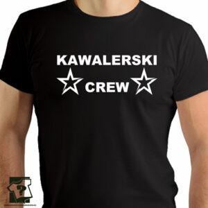 Kawalerski crew - koszulka z nadrukiem - koszulki na wieczór kawalerski