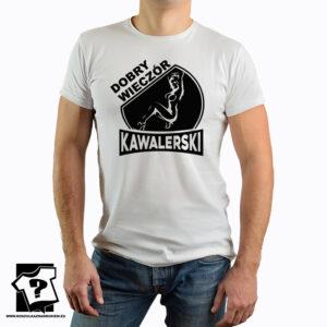 Koszulka na wieczór kawalerski - dobry wieczór kawalerski