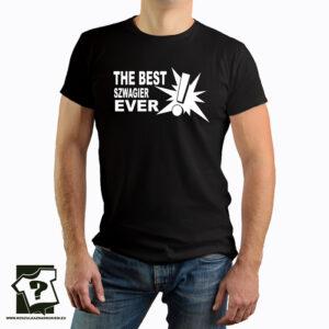 Koszulka z nadrukiem - the best szwagier ever