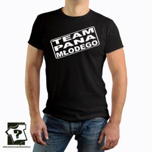 Team pana młodego - koszulka z nadrukiem - koszulka na wieczór kawalerski