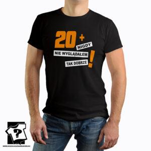 20+ koszulki z nadrukiem na 20 urodziny męskie dla chłopaka, prezent dla syna, mężczyzny
