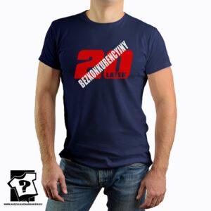 Bezkonkurencyjny 20 latek koszulki z nadrukiem na 20 urodziny męskie dla chłopaka, prezent dla syna, mężczyzny