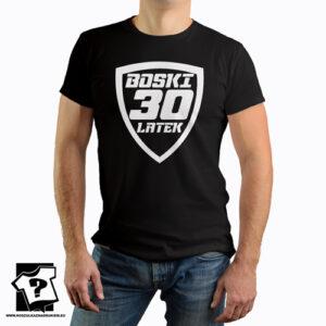 Boski 30 latek męska koszulka z nadrukiem śmieszny prezent 30 urodziny