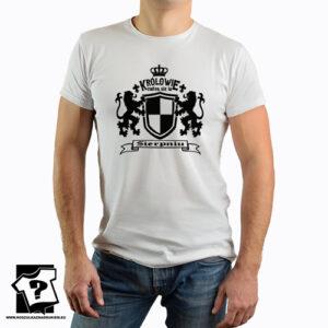 Królowie rodzą się w sierpniu koszulka dla chłopaka prezent