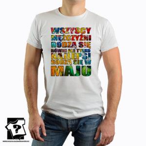 Najlepsi rodzą się w maju koszulka dla chłopaka z nadrukiem śmieszny prezent