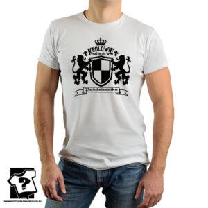 Królowie rodzą się w październiku koszulka z nadrukiem dla chłopaka prezent