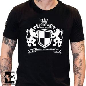 Królowie rodzą się w październiku koszulka z nadrukiem dla chłopaka śmieszny prezent na urodziny