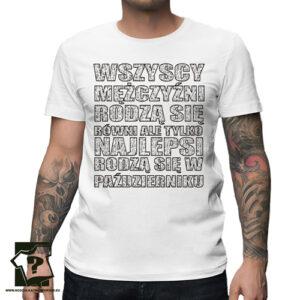 Najlepsi rodzą się w październiku koszulka z nadrukiem śmieszny prezent