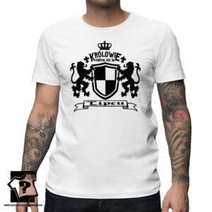 W lipcu bo wtedy rodzą się królowie koszulka z nadrukiem prezent