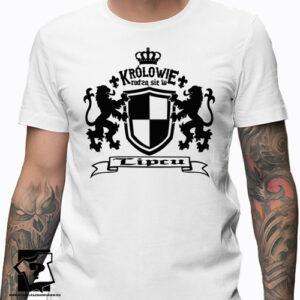 W lipcu bo wtedy rodzą się królowie koszulka z nadrukiem prezent na urodziny