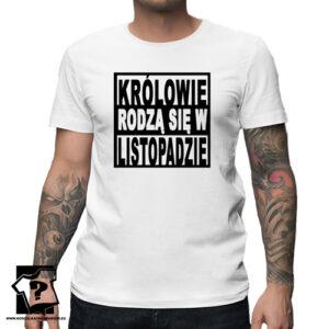 Koszulka dla chłopaka legendy urodzonej w listopadzie prezent na urodziny