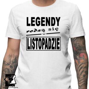 Koszulka dla legendy urodzonej w listopadzie urodziny
