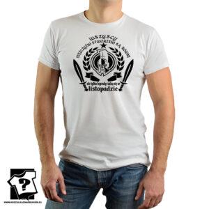Koszulka męska ale tylko legendy rodzą się w listopadzie prezent na urodziny