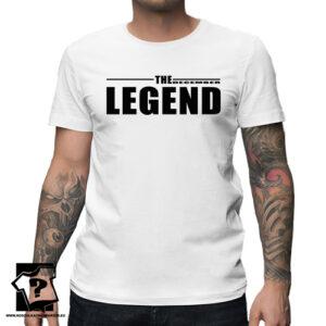 Koszulka z nadrukiem dla chłopaka prezent na 18 20 30 40 50 urodziny The December legend