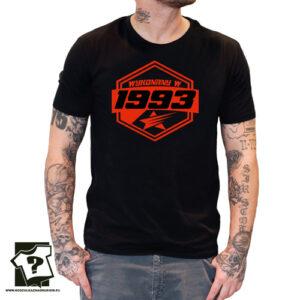 Koszulki z nadrukiem na urodziny wykonany w 1993 prezent na urodziny