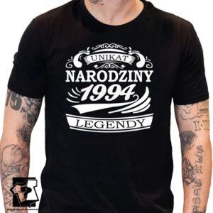 Narodziny legendy 1994 męska koszulka z nadrukiem na urodziny