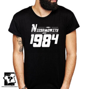 Niesamowity od 1984 męska koszulka z nadrukiem prezent na urodziny