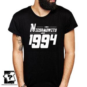 Niesamowity od 1994 męska koszulka z nadrukiem prezent na urodziny