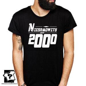 Niesamowity od 2000 męska koszulka z nadrukiem prezent na urodziny