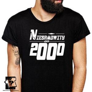 Niesamowity od 2000 męska koszulka z nadrukiem prezent na urodziny dla chłopaka